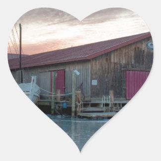 Chesapeake Bay Maritime Museum Heart Sticker