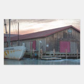 Chesapeake Bay Maritime Museum Rectangular Sticker