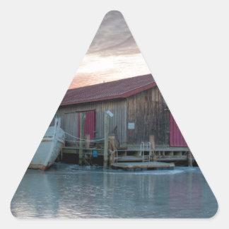 Chesapeake Bay Maritime Museum Triangle Sticker