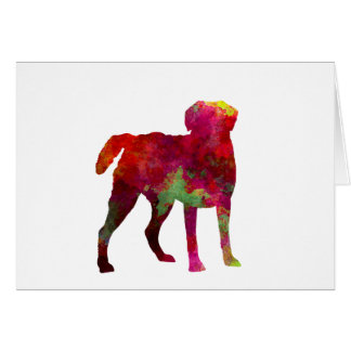 Chesapeake Bay Retriever in watercolor Card