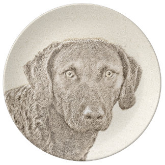 Chesapeake Bay Retriever Plate