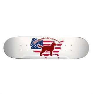 Chesapeake Bay Retriever Skateboard