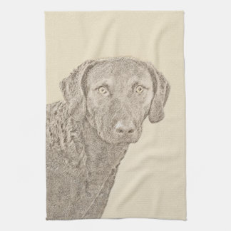 Chesapeake Bay Retriever Tea Towel