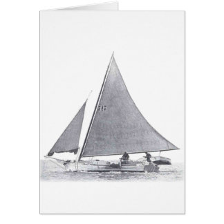 Chesapeake Bay Skipjack Card