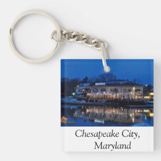 Chesapeake City Maryland Keychain