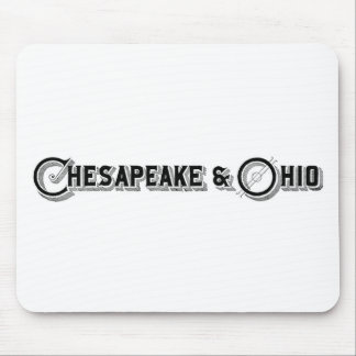 Chesapeake & Ohio Railroad Logo ca.1897 Mouse Pad