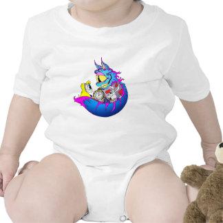 Cheshire Alice Baby Bodysuit