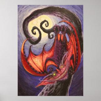 Cheshire Bat Poster