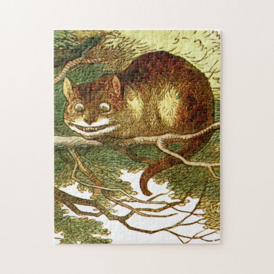 Cheshire Cat 2 Jigsaw Puzzle