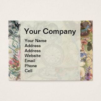 Cheshire Cat Alice in Wonderland Business Card