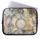Cheshire Cat Alice in Wonderland Laptop Sleeve