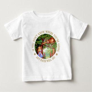 CHESHIRE CAT - ANY PATH WILL DO BABY T-Shirt
