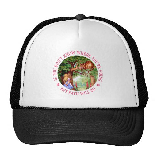 CHESHIRE CAT - ANY PATH WILL DO HAT