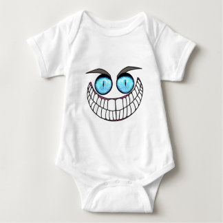 Cheshire Cat - Blue Eyes.png Baby Bodysuit