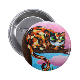 Cheshire Cat Button