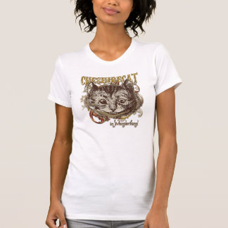 Cheshire Cat Carnivale Style (Gold Version) Tees