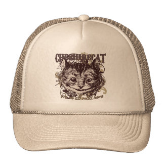 Cheshire Cat Carnivale Style Mesh Hat