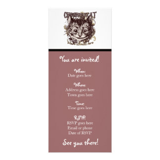 Cheshire Cat Carnivale Style Announcements