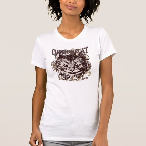 Cheshire Cat Carnivale Style Tee Shirts