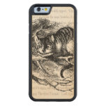 Cheshire Cat Carved® Maple iPhone 6 Bumper Case