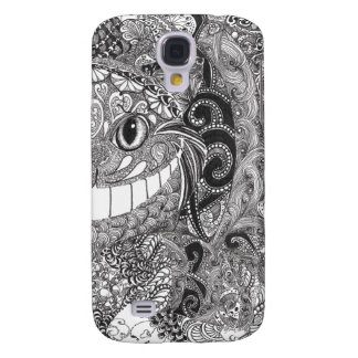 Cheshire Cat Design Galaxy S4 Covers