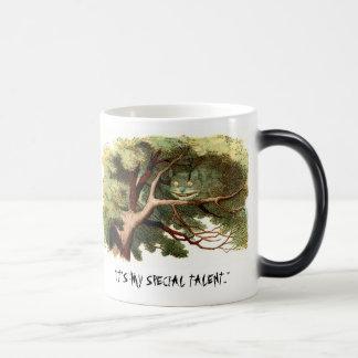 Cheshire Cat (disappearing) Magic Mug