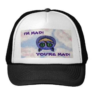 CHESHIRE CAT I M MAD MESH HAT