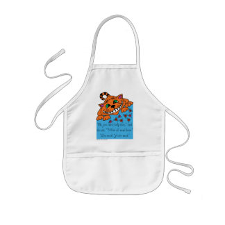 Cheshire Cat I'm Mad - Alice in Wonderland Kids Apron