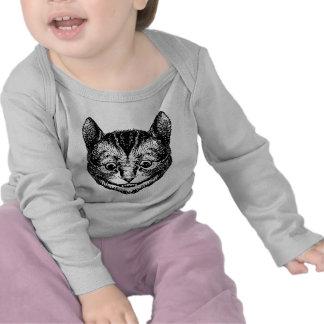 Cheshire Cat Inked Black Tshirts