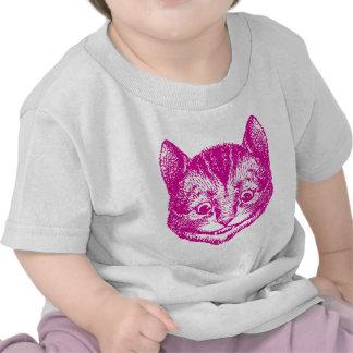 Cheshire Cat Inked Pink T-shirt