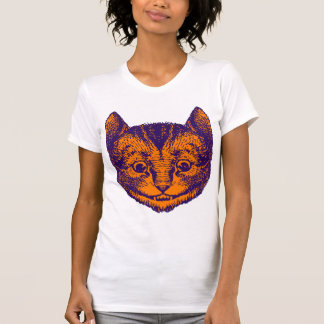 Cheshire Cat Inked Purple Orange T-shirts