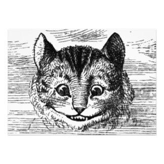 Cheshire Cat Invitation