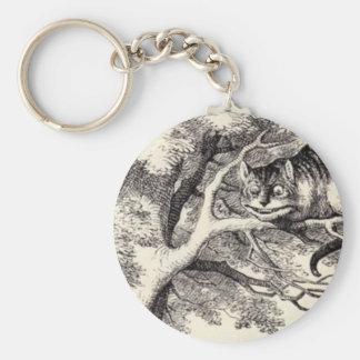 Cheshire cat key ring