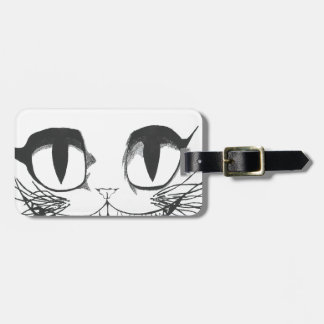 Cheshire Cat Luggage Tag