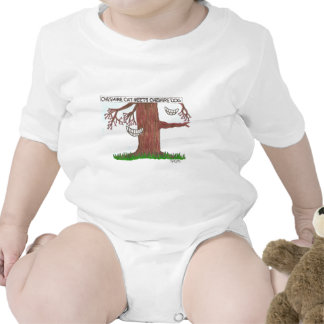 Cheshire cat meets Cheshire dog. T-shirt