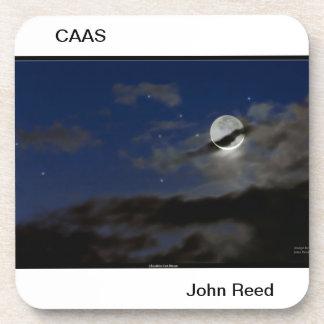 Cheshire Cat Moon coasters (6) John Reed