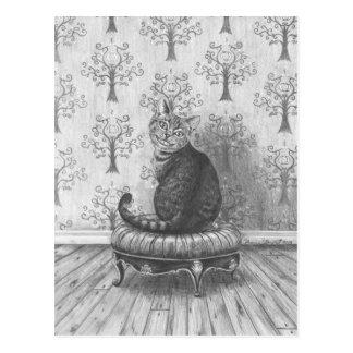 Cheshire Cat - Postcard