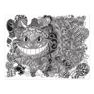 Cheshire Cat Postcard