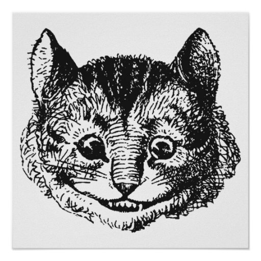 Cheshire Cat Posters