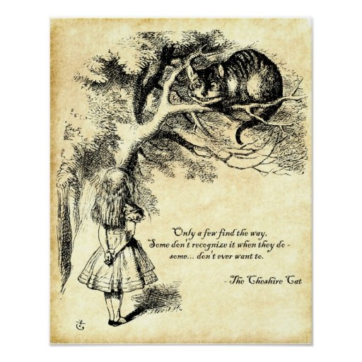 Cheshire Cat Poster