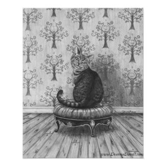 Cheshire Cat Poster Cheshire Cat Art Wonderland