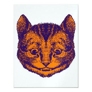 Cheshire Cat Prom Bid 11 Cm X 14 Cm Invitation Card