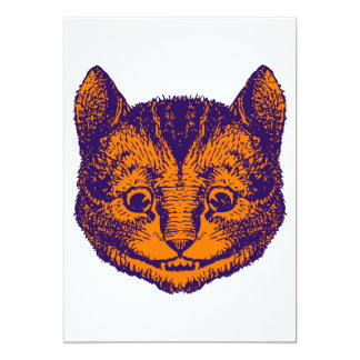 Cheshire Cat Prom Bid 13 Cm X 18 Cm Invitation Card