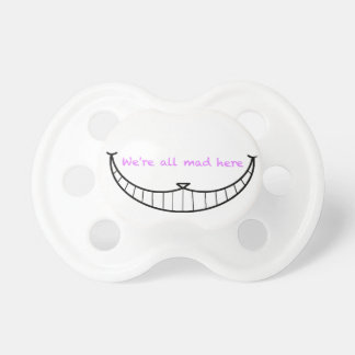 Cheshire Cat Smile Baby Pacifiers
