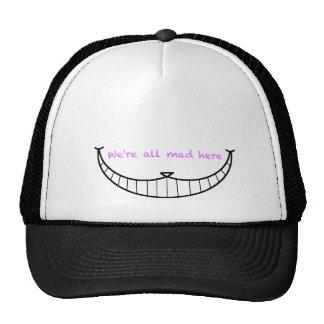 Cheshire Cat Smile Cap