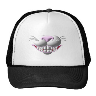 Cheshire Cat Smile Trucker Hats