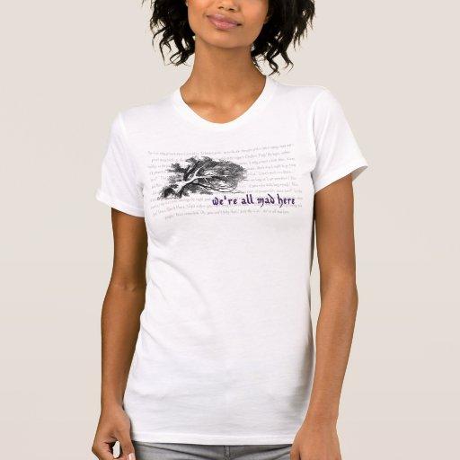 Cheshire Cat T-Shirt Tshirt