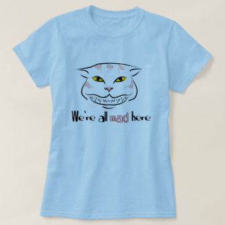 Cheshire Cat Tee (with text)