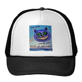 Cheshire Cat: We're All Mad Here! (Wonderland) ~ Cap