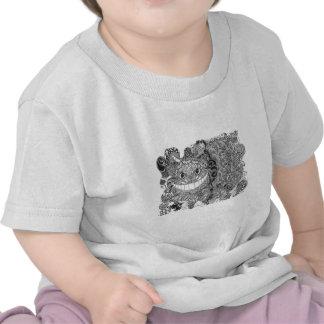 Cheshire Cat Zentangle design Shirt